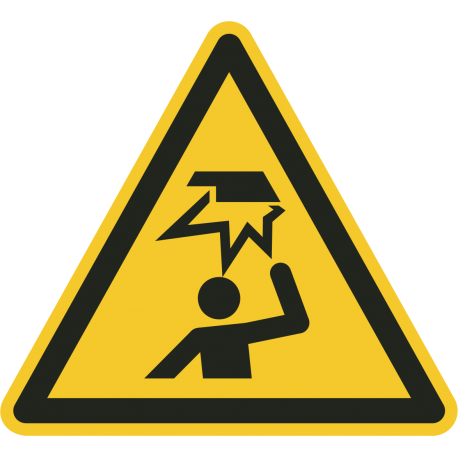 Stootgevaar stickers