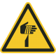 Gevaar voor scherpe elementen stickers