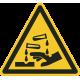 Bijtende stoffen stickers