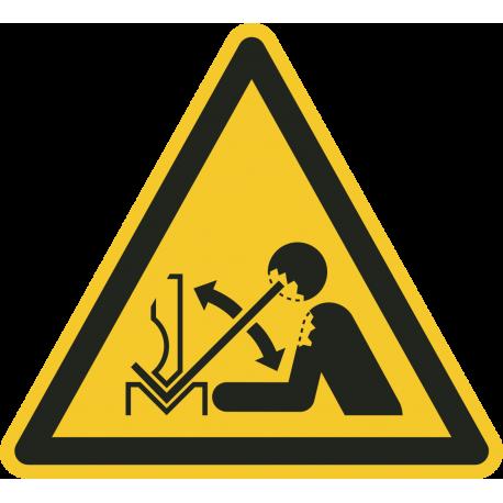 Snel bewegend werkstuk stickers