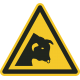 Pas op voor stier stickers