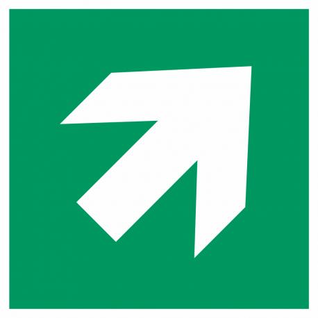 Richtingaanwijzing rechts omhoog stickers