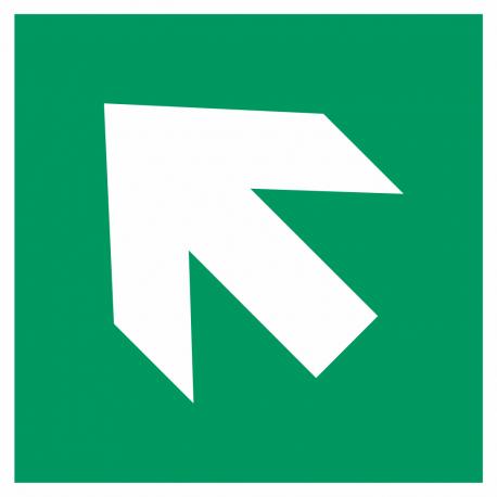 Richtingaanwijzing links omhoog stickers
