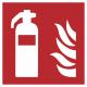 Blusapparaat (brandblusser) stickers