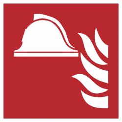 Brandbestrijdingsmiddelen stickers