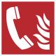 Telefoon voor brandalarm stickers